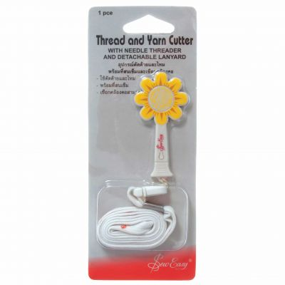 Sew Easy Daisy Shaped Thread And Yarn Cutter