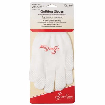 Sew Easy Quilting Gloves - Medium/Large