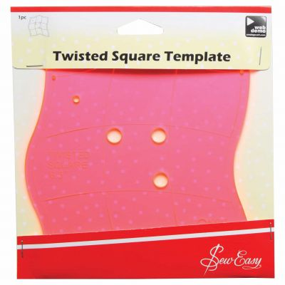 Sew Easy Template - Twisted Square