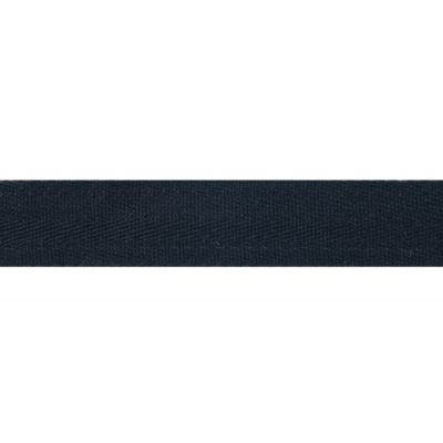 Cotton Herringbone Webbing Tape - 30mm Wide - Black