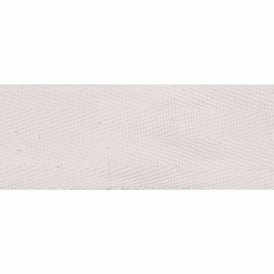 Cotton Herringbone Webbing Tape - 40mm Wide - Natural