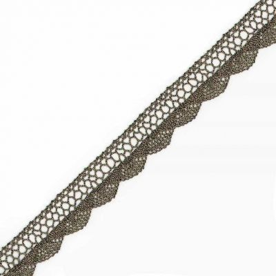 Metallic Barmen Lace Trim 20mm Wide - Old Gold