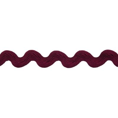 14mm Ric Rac Trim Wine