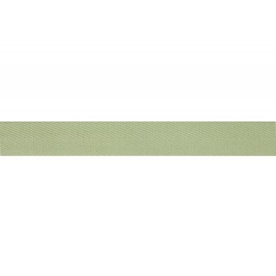 Cotton Herringbone Webbing Tape - 20mm Wide - Lime Green