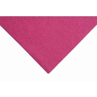 Wool Felt 90cm Wide - Splendid Pink