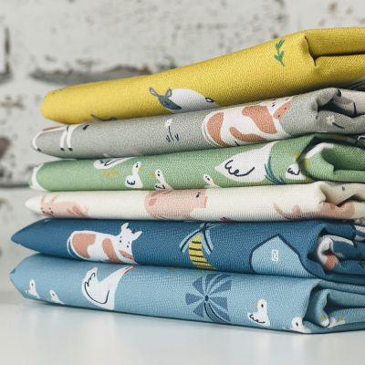 Dashwood Studio  - Farm Days - Fat Quarter Bundle - 6 Fabrics