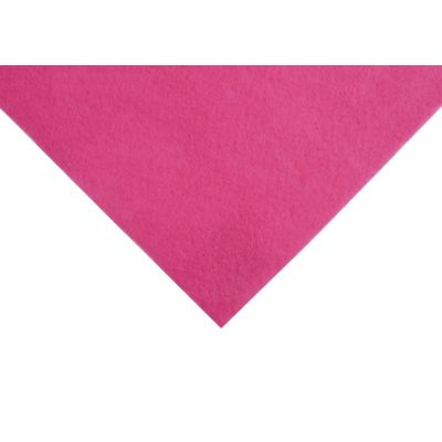 Acrylic Craft Felt Fabric 90cm Wide - Shocking Pink
