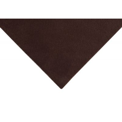 Acrylic Craft Felt Fabric 90cm Wide - Brown