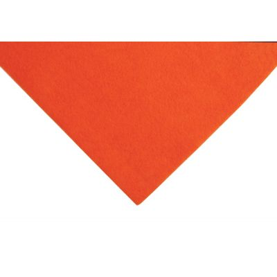 Acrylic Craft Felt Fabric 90cm Wide - Orange