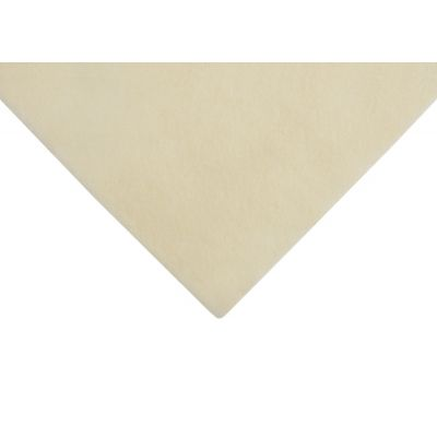 Acrylic Craft Felt Fabric 90cm Wide - Cream