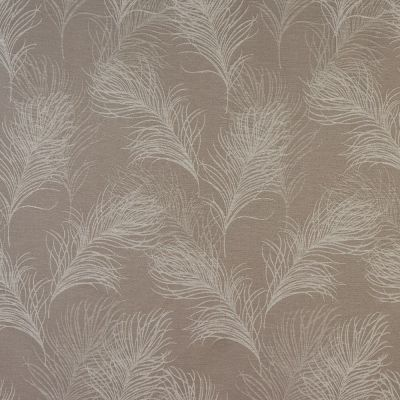 Feather - Coffee - Curtain Fabric