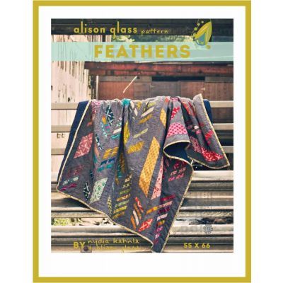 Alison Glass Quilt Patterns -  Feathers Quilt Pattern