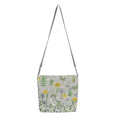 Makower: Fern Garden Messenger Bag Free Project: Instant Download
