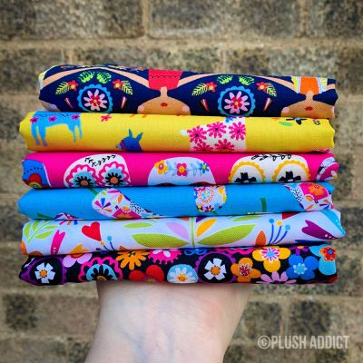 Dashwood Studio  - Fiesta - Fat Quarter Bundle - 6 Fabrics