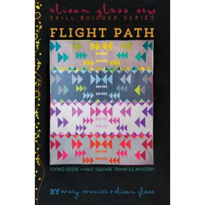 Alison Glass Quilt Patterns -  Flight Path Quilt Pattern