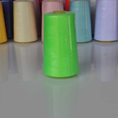 Fluorescent Lime Overlocker Thread