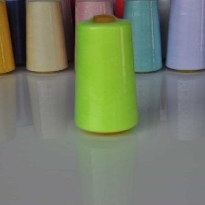 Fluorescent Yellow Overlocker Thread