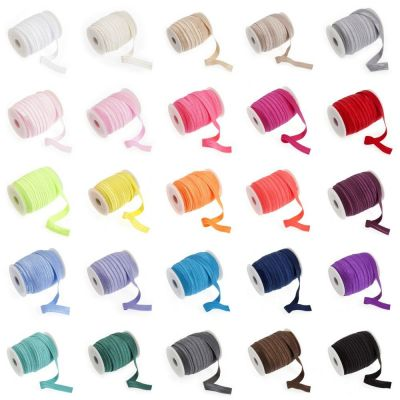 Fold Over Elastic - 16mm Wide - 27 Colours