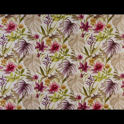 Porter & Stone - Funchal - Berry - Curtain Fabric