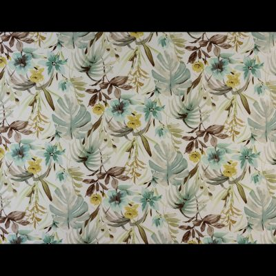 Porter & Stone - Funchal - Duck Egg - Curtain Fabric