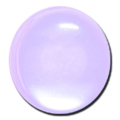 Round Polyester Shank Button - Lilac - 15mm / 24L