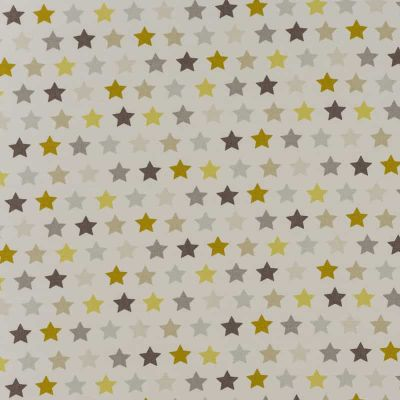 Starry - Ochre - Curtain Fabric