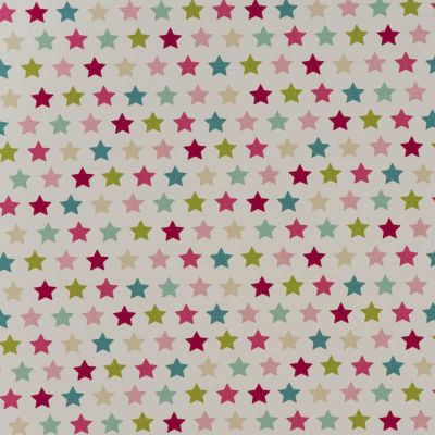 Starry - Pink - Curtain Fabric