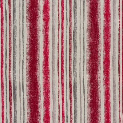 Garda Stripe - Cherry Curtain Fabric