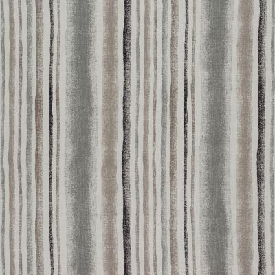 Garda Stripe - Grey - Curtain Fabric