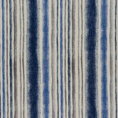 Garda Stripe - Indigo - Curtain Fabric