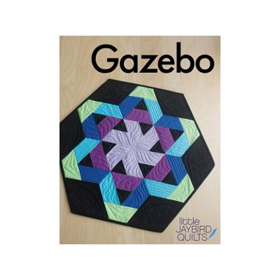 Jaybird Quilt Patterns - Gazebo Quilt Pattern
