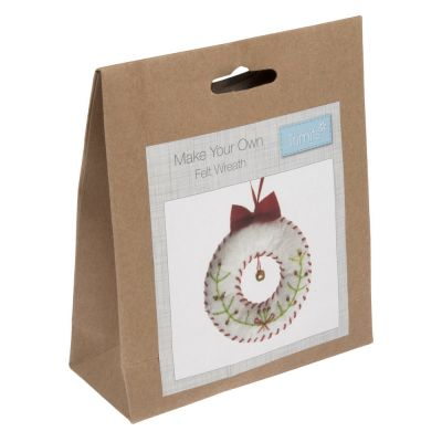 Trimits Felt Christmas Decoration Kit: Wreath