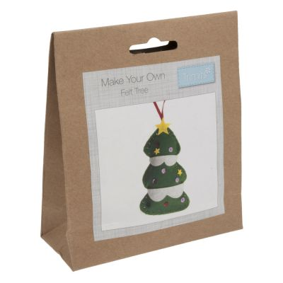 Trimits Felt Christmas Decoration Kit: Tree