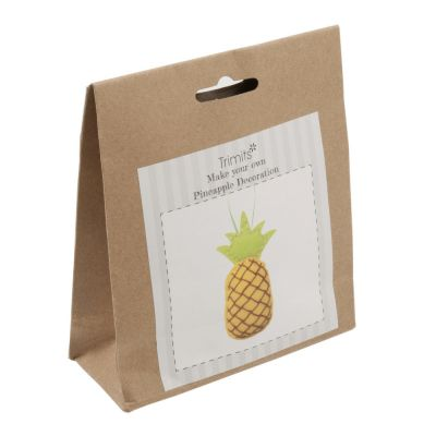 Trimits Felt Decoration Kit: Pineapple