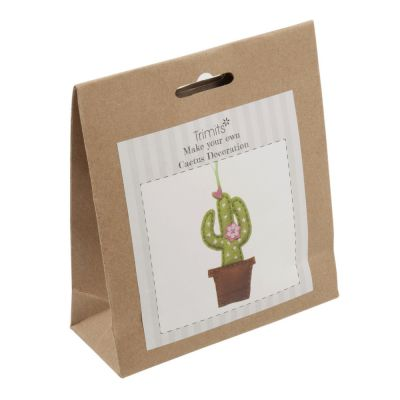 Trimits Felt Decoration Kit: Cactus