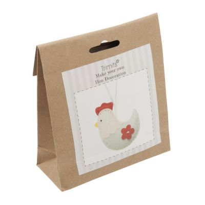 Trimits Felt Decoration Kit: Hen