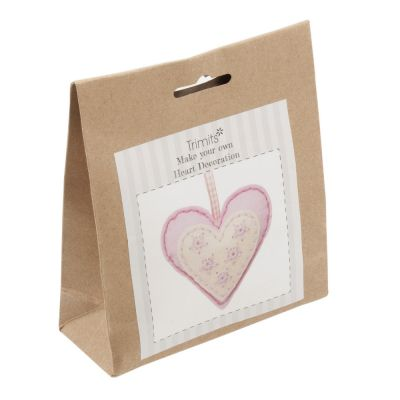 Trimits Felt Decoration Kit: Heart