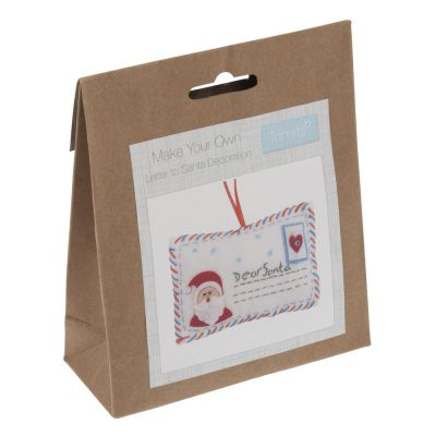 Trimits Felt Christmas Decoration Kit: Letter To Santa