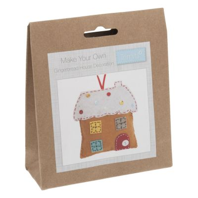 Trimits Felt Christmas Decoration Kit: Gingerbread House