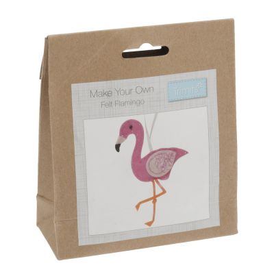 Trimits Felt Decoration Kit: Flamingo
