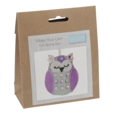 Trimits Felt Decoration Kit: Spring Owl