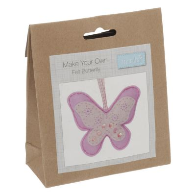 Trimits Felt Decoration Kit: Butterfly