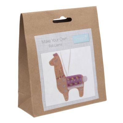 Trimits Felt Christmas Decoration Kit: Llama
