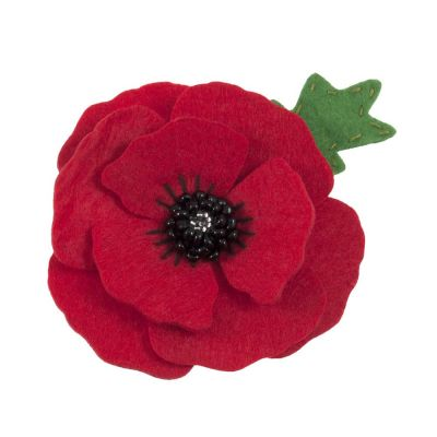 Trimits Felt Decoration Kit: Poppy Brooch