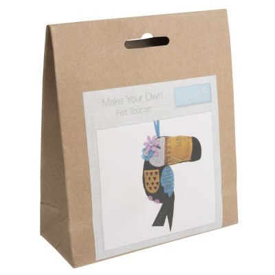 Trimits Felt Decoration Kit: Toucan