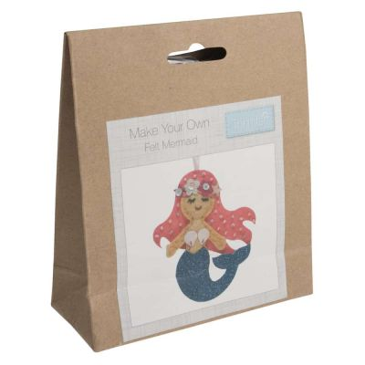 Trimits Felt Decoration Kit: Mermaid