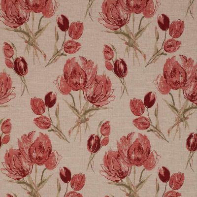 Porter & Stone - Gigi - Rouge - Curtain Fabric