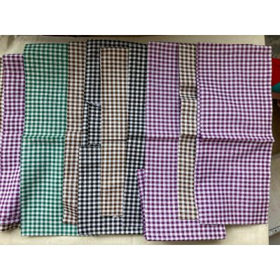 Remnant - Gingham Patch Pack: Cotton:- 1m approx