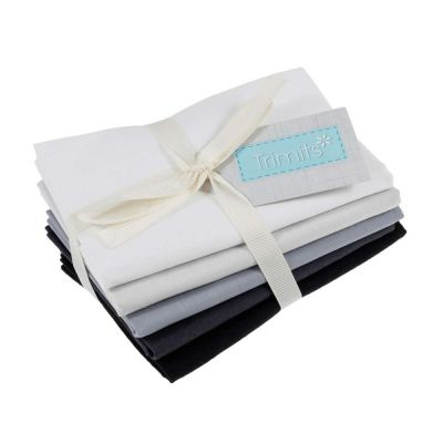 Trimits Fat Quarter Bundle - Monochrome - 5 Fabrics