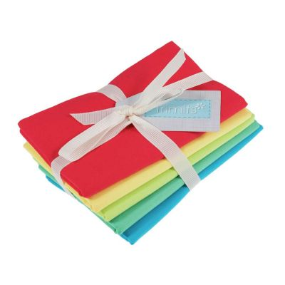 Trimits Fat Quarter Bundle - Brights - 5 Fabrics